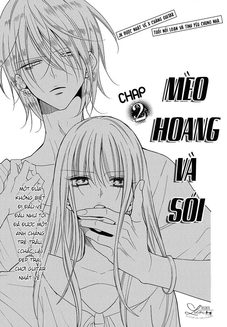 Noraneko to Ookami chap 2 - Trang 2