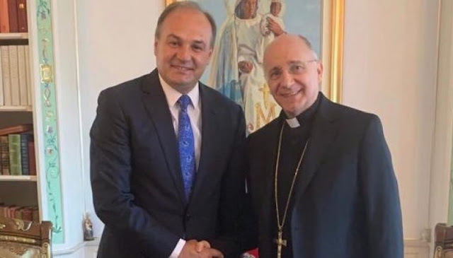 Enver Hoxhaj asks from Vatican the recognition of Kosovo