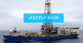 Career opportunities on offshore drilling ship