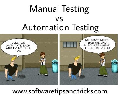 Manual Testing vs Automation testing