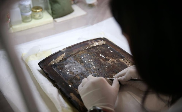 Turkey restoring 452 historic Byzantine church icons