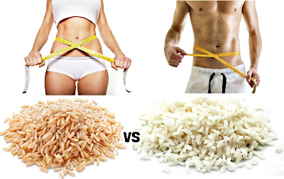 Arroz integral vs arroz blanco adelgazar