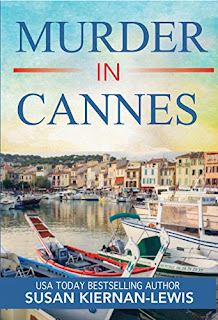 Murder in Cannes - a cozy mystery book by Susan Kiernan-Lewis