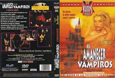 Carátula dvd: El amanecer de los vampiros
