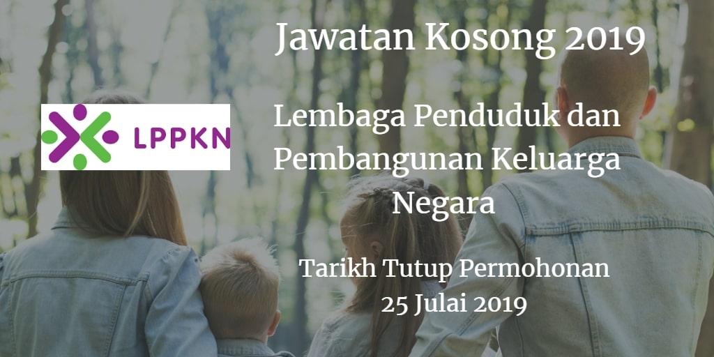Jawatan Kosong LPPKN 25 Julai 2019
