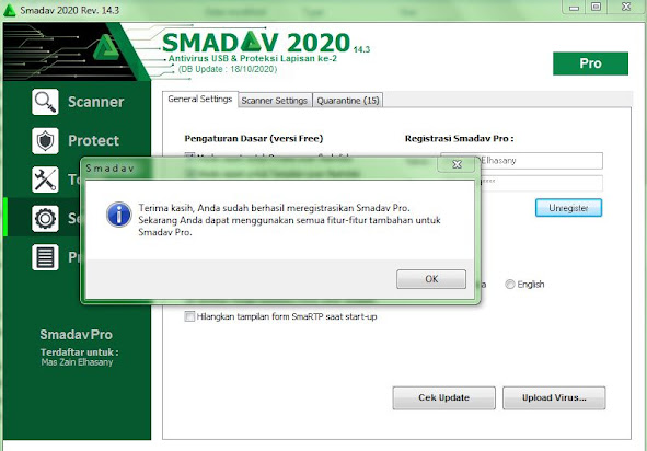 Serial Number Smadav Pro 14 3 Full Version Working 2020 West Papua