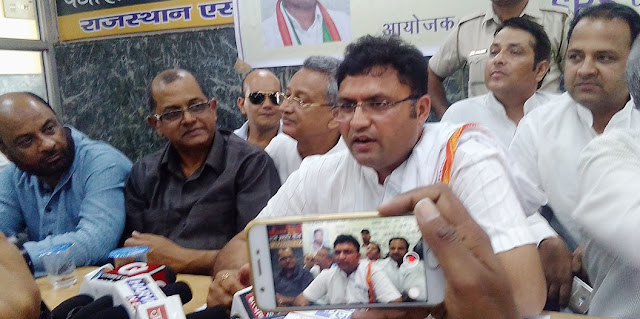 The chaos spread by the BJP-RSS in the India-Dalit dynasty; Ashok Tanwar, Haryana Congress President