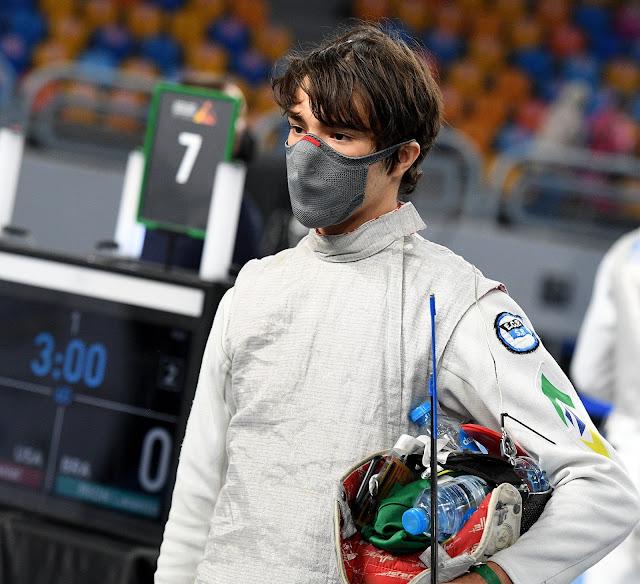 Lorenzo Mion Esgrima Brasil mundial juvenil Brazilian fencing,