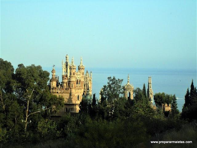 castillo colomares en Benalmadena Costa del Sol