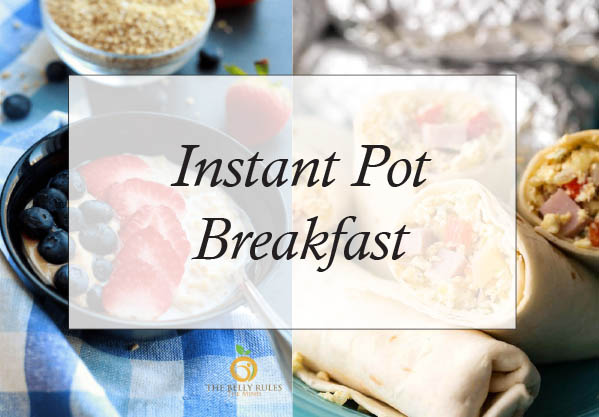 Instant Pot Breakfast Recipes You Will Love