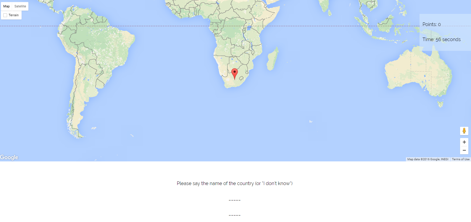 Free technology for teachers geoquiz a talking map quiz geoquiz could be a good game for students to play to review their knowledge of the locations of countries around the world the option to speak a name gumiabroncs Image collections