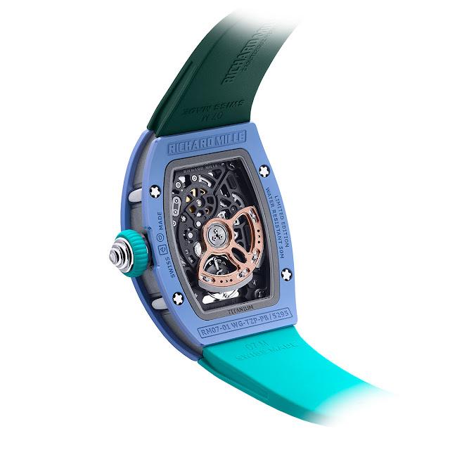 Richard Mille RM 07-01 Pastel Blue
