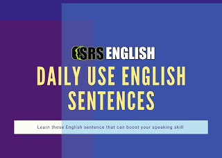 Daily Use English Sentence With Hindi Meaning