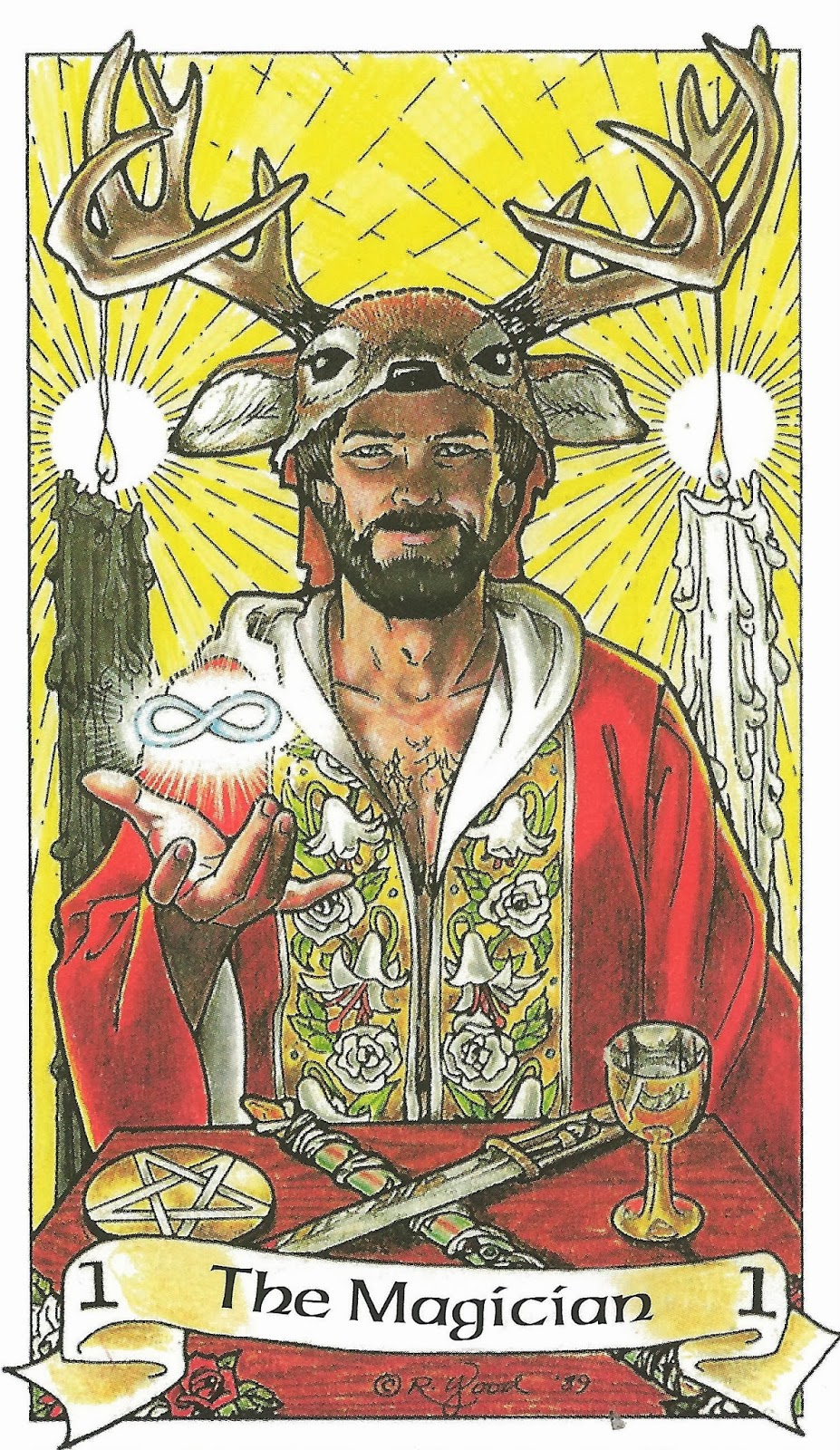 Tarot Musings Using Tarot Reversals: Tracings Of Mystical Musings: The Magus: The Journey Of