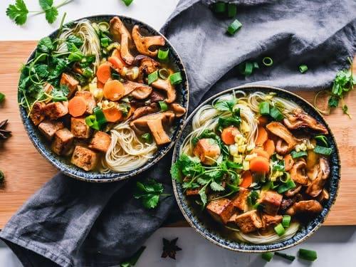 How to make Asian noodle salad