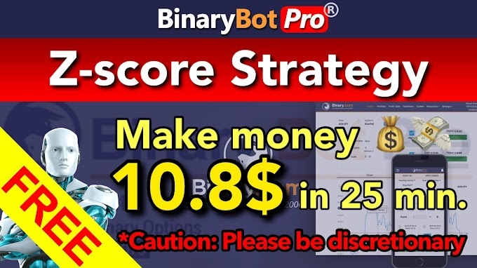 Z-score Strategy | Binary Bot Pro