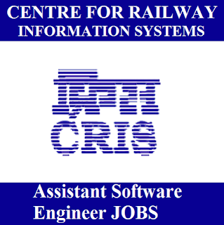 Centre for Railway Information Systems, CRIS, Software Engineer, Sarkari Naukri, Latest Jobs, freejobalert, Graduation, cris logo