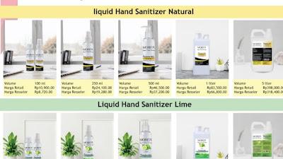 Advetorial - Hand Sanitizer Berkualitas (Alkohol 80 %)