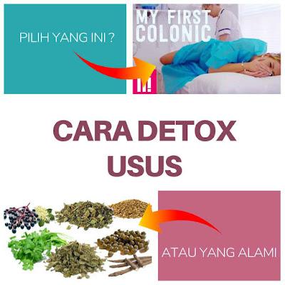 cara detox usus kotor