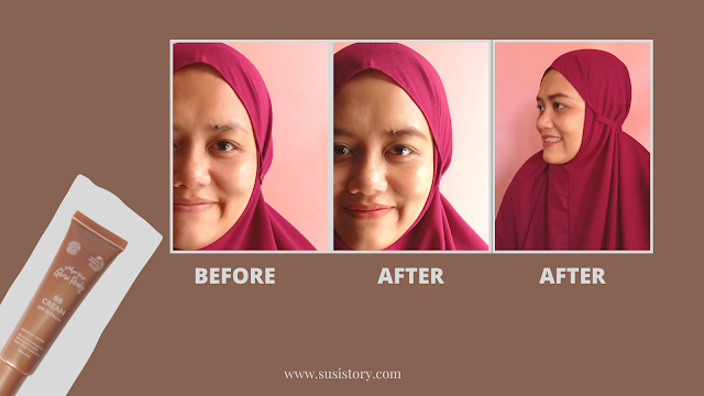 Review Marina Glow Ready BB Cream Natural Beige