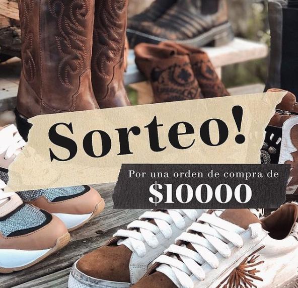 Sorteo de Marignan Shoes en Instagram