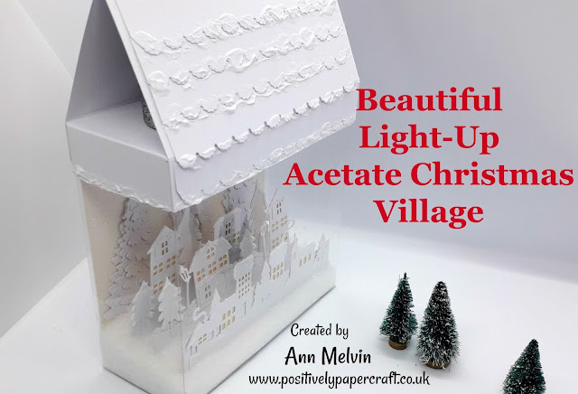 Acetate Christmas Village Tutorial