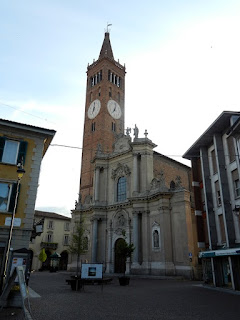 The Basilica of San Martino in Treviglio