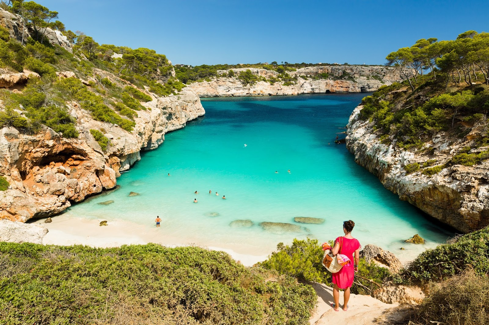 Calo Des Moro In Mallorca Spain
