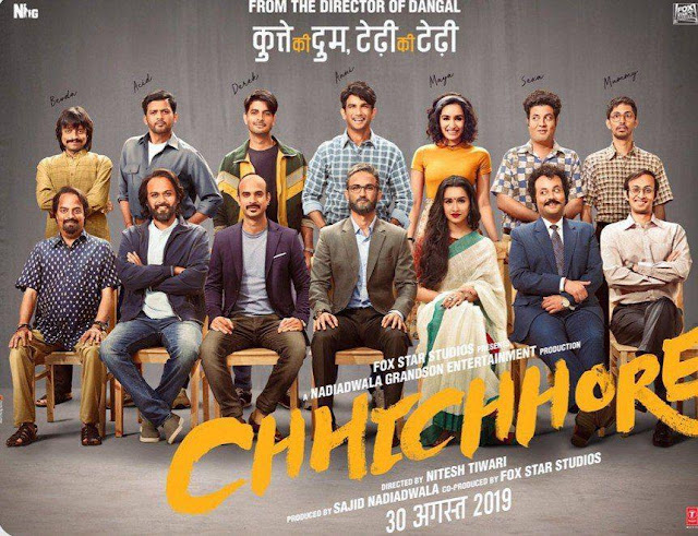 Chhichhore 2019 hindi 720p full movie hd
