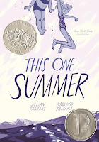 this one summer by mariko tamaki and jillian tamaki book cover