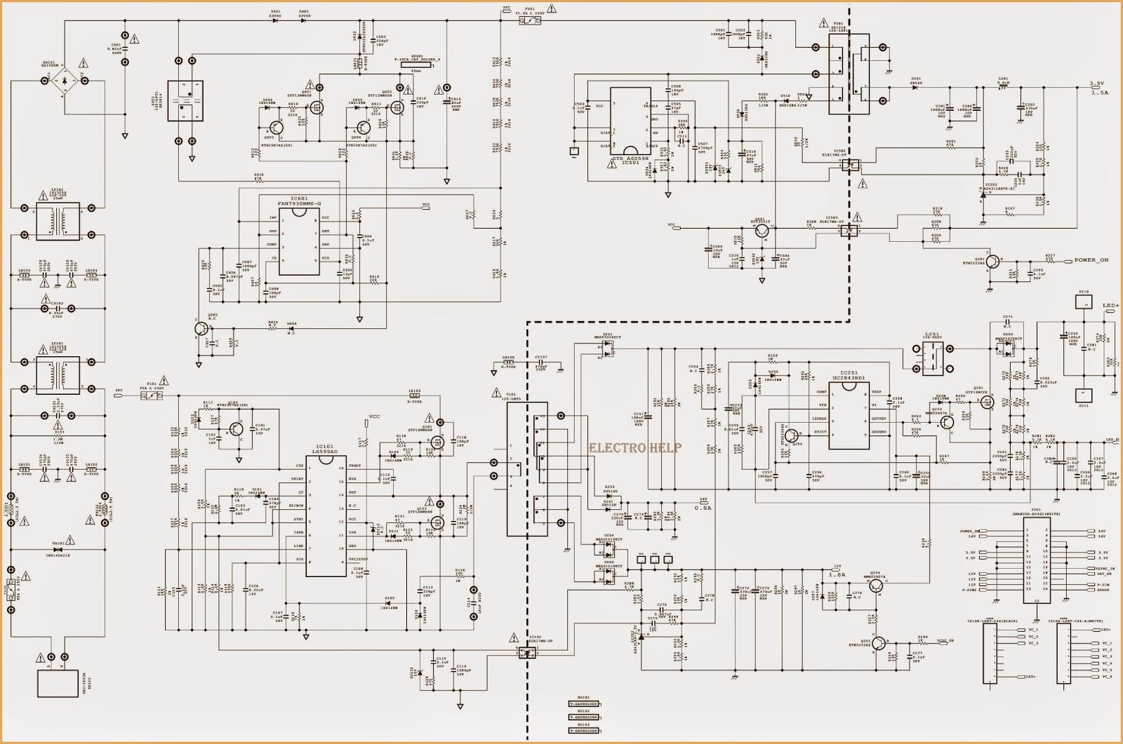 fine smps repair manual component electrical diagram ideas itseo jbl eon  [ 1600 x 1061 Pixel ]