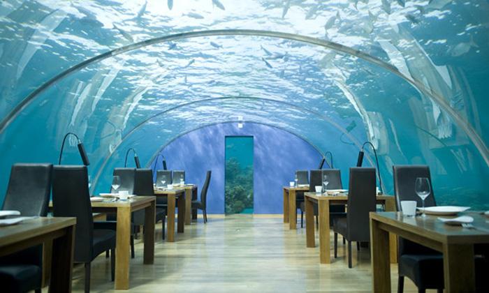 underwater hotel Conrad Maldives Rangali Island