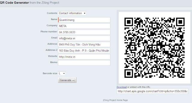 Địa chỉ hỗ trợ người dùng tạo mã QR miễn phí, tốt nhất trên thị trường