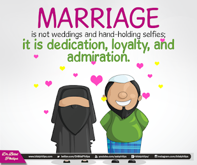 Marriage is not weddings and hand-holding selfies