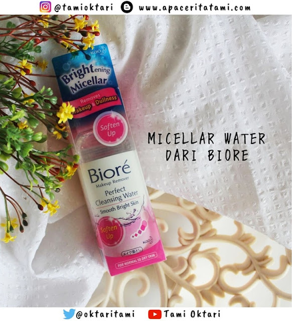 [REVIEW] Biore Makeup Remover Perfect Cleansing Water - Soften Up