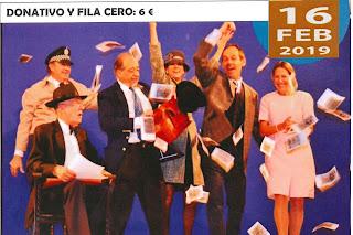 Teatro el 16 de febrero de 2019