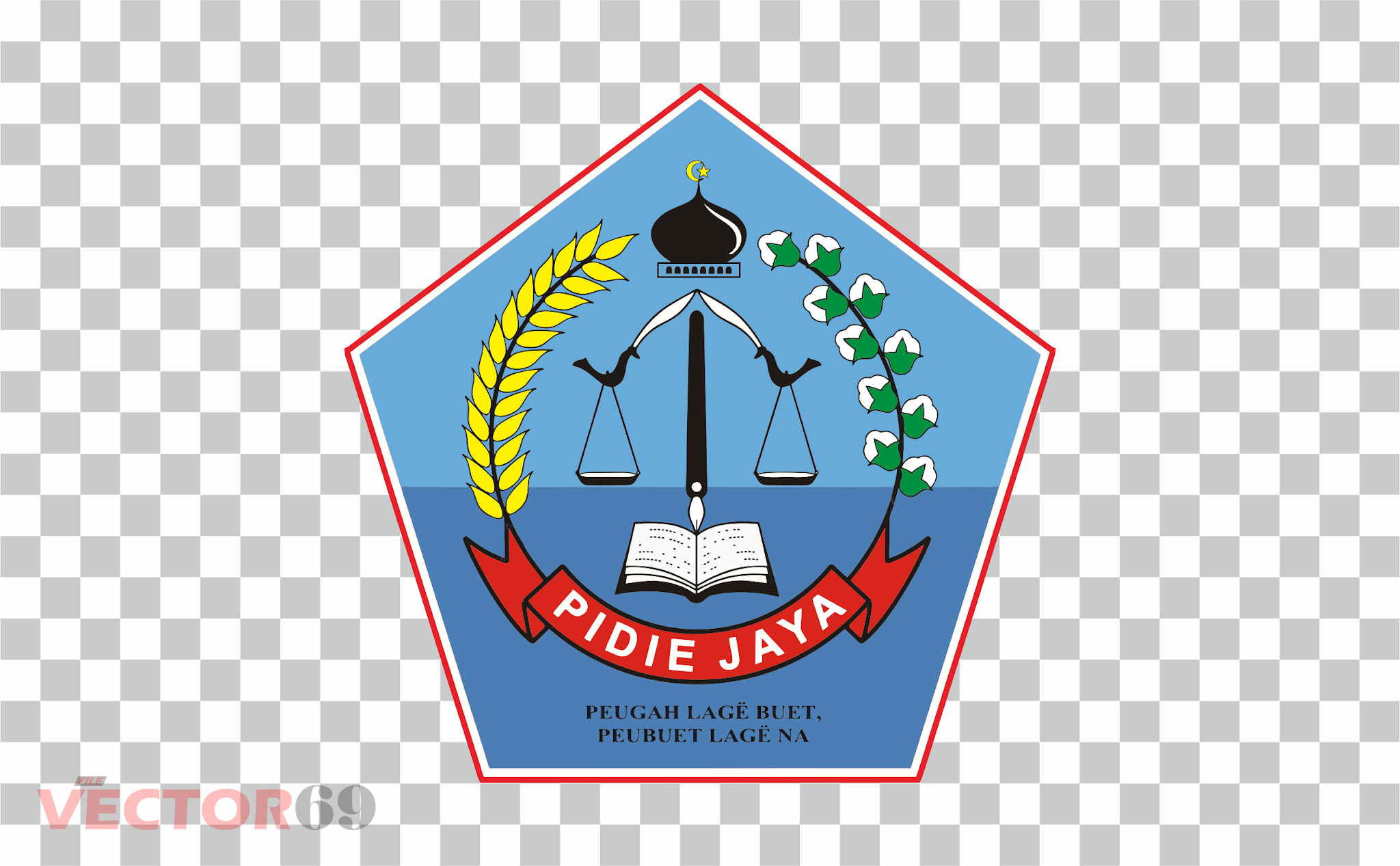 Kabupaten Pidie Jaya Logo - Download Vector File PNG (Portable Network Graphics)