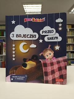 """""""3 bajeczki przed snem. Masza i Niedźwiedź"""" - recenzja"""