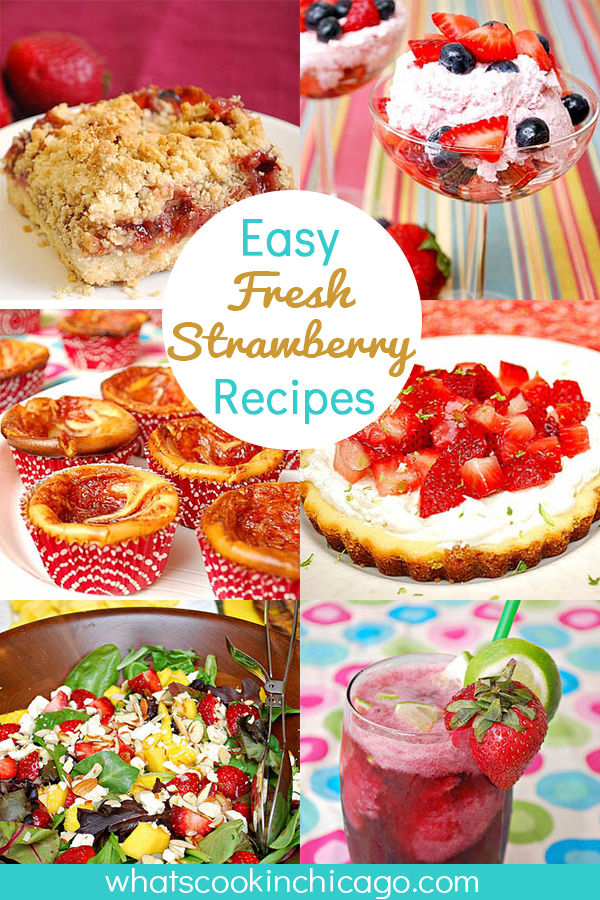 titled image (and shown) Easy Fresh Strawberry Recipes