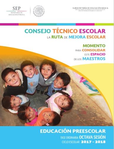 Consejo Tecnico Escolar Octava Sesión Primaria, Preescolar y Secundaria