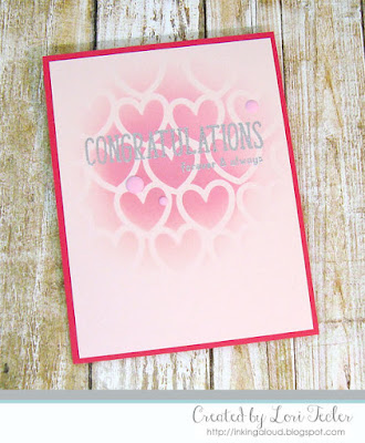 Forever and Always card-designed by Lori Tecler/Inking Aloud-stamps from Reverse Confetti