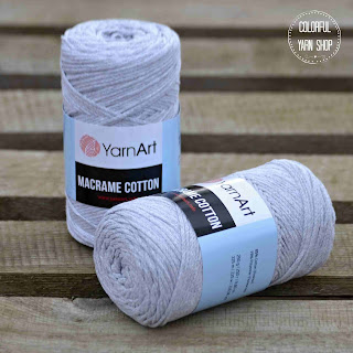 Macrame cotton by YarnArt - colorful yarn shop