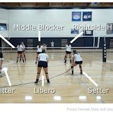 Posisi Pemain Bola Voli Dengan Tugas Dan Gambarnya | Zona Pelatih