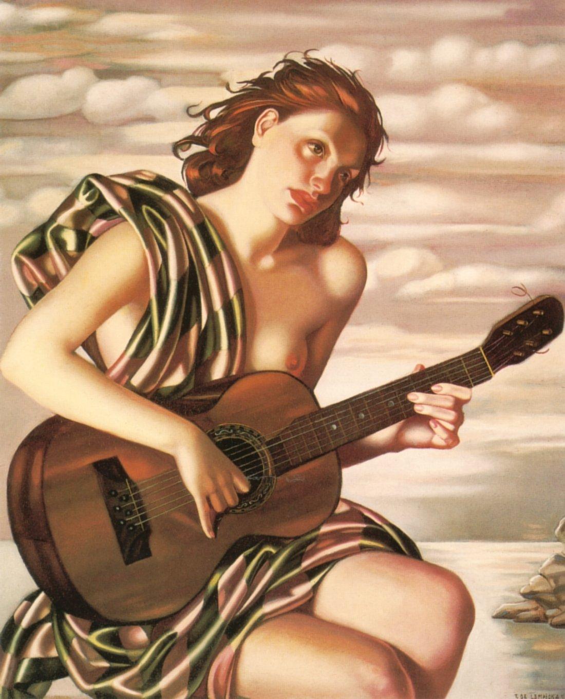 Tamara  de  Lempicka  Amethyst C