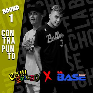LA BASE VS EH GUACHO - CONTRAPUNTO ROUND 1