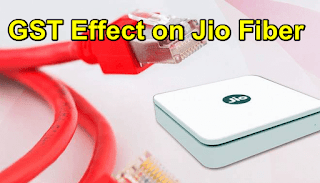 GST Effect on Jio Fiber