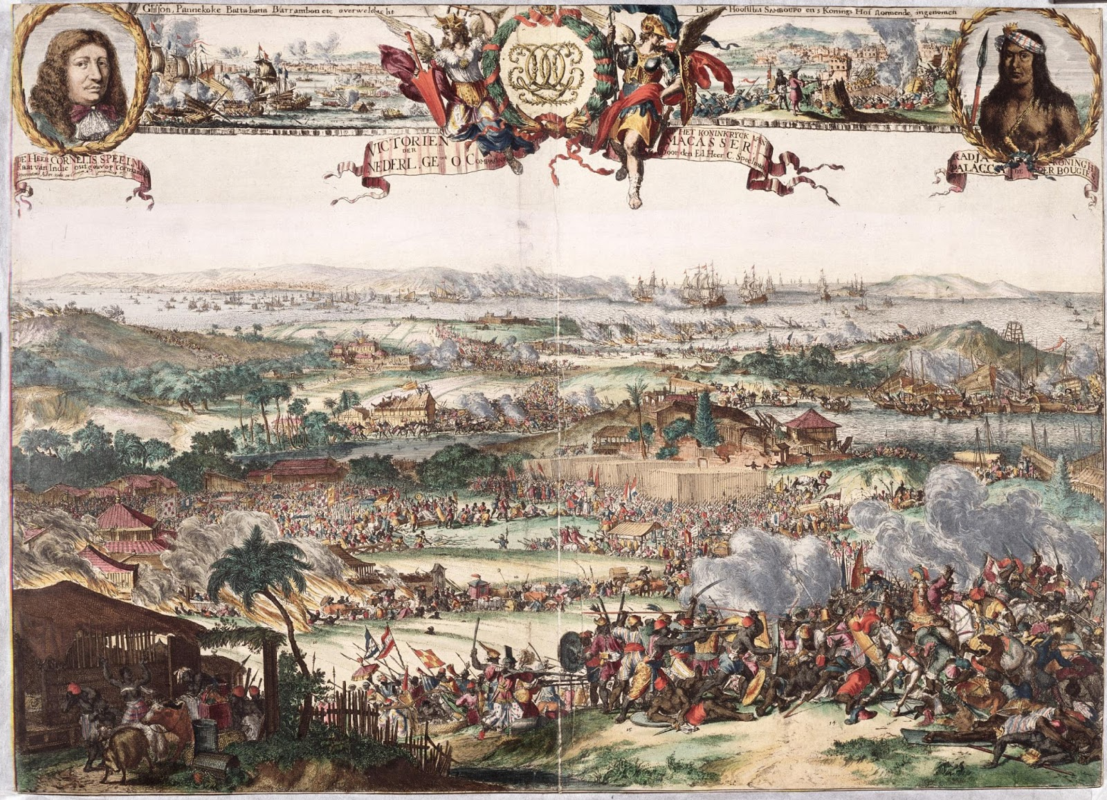 Lukisan Perang MAkassar 1669