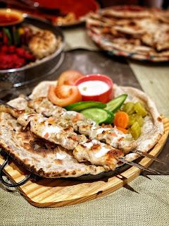 Chicken Shawarma, Wahaj, Hyatt Regency, Al Kout Mall
