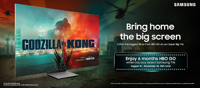 Bring Home the Big Screen with Samsung & HBO GO