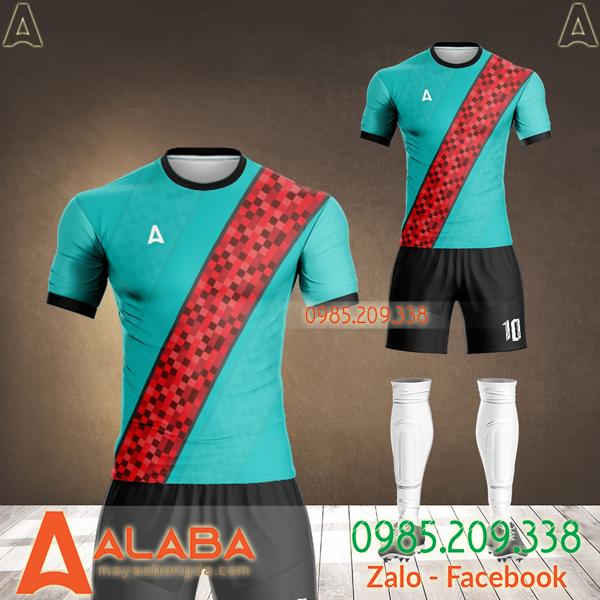 áo không logo màu xanh ngọc 2021